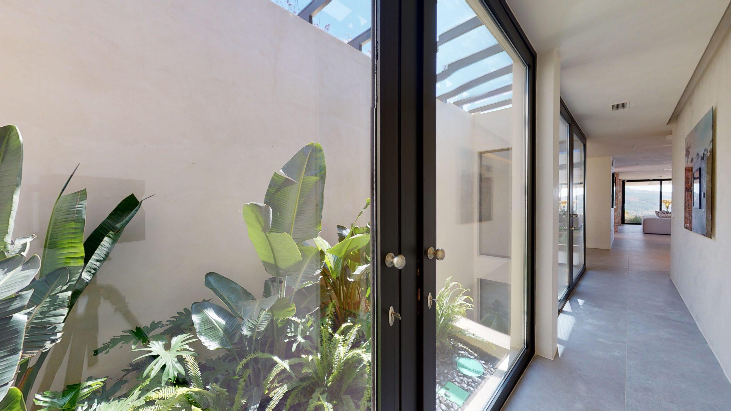 Innenliegendes Atrium